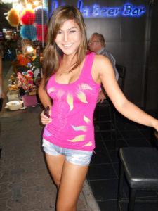 Ladyboy in Bangkok