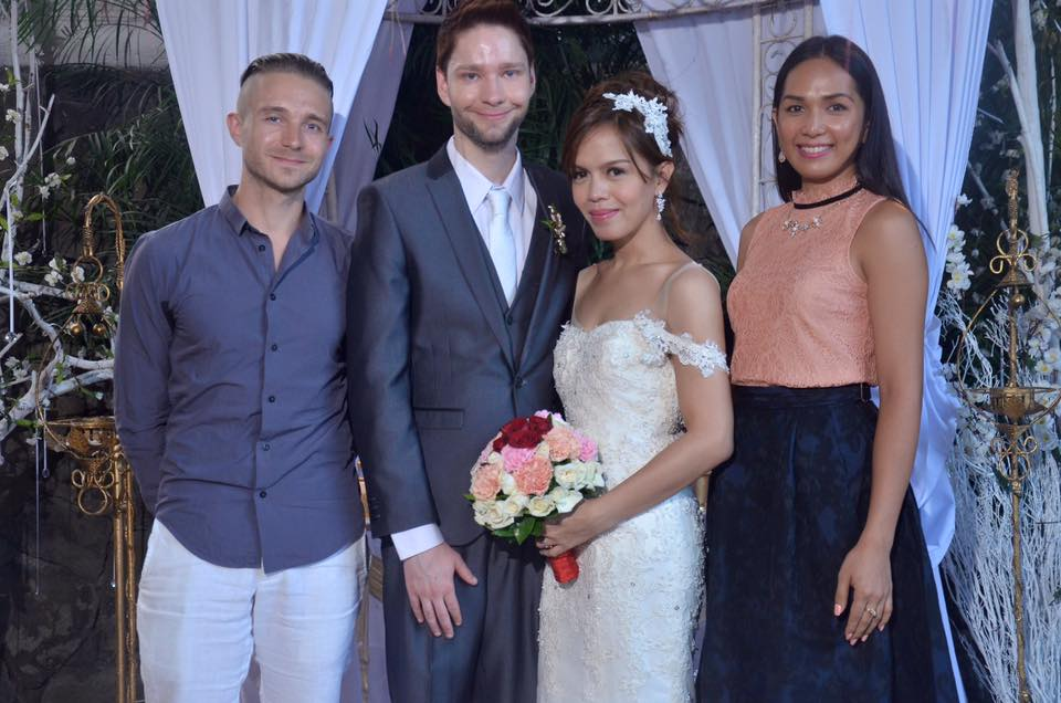 Maki & Cyril transgender wedding in the Philippines
